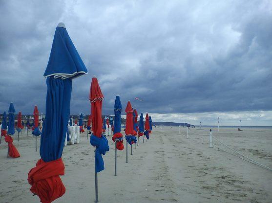 beach, deauville-trouville